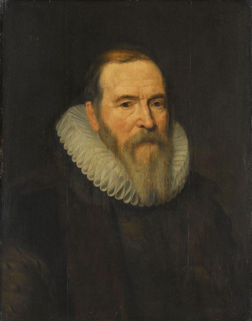 Portrait of Johan van Oldenbarnevelt, painted by Michiel Jansz. van Mierevelt, c.1616 - Rijksmuseum Amsterdam