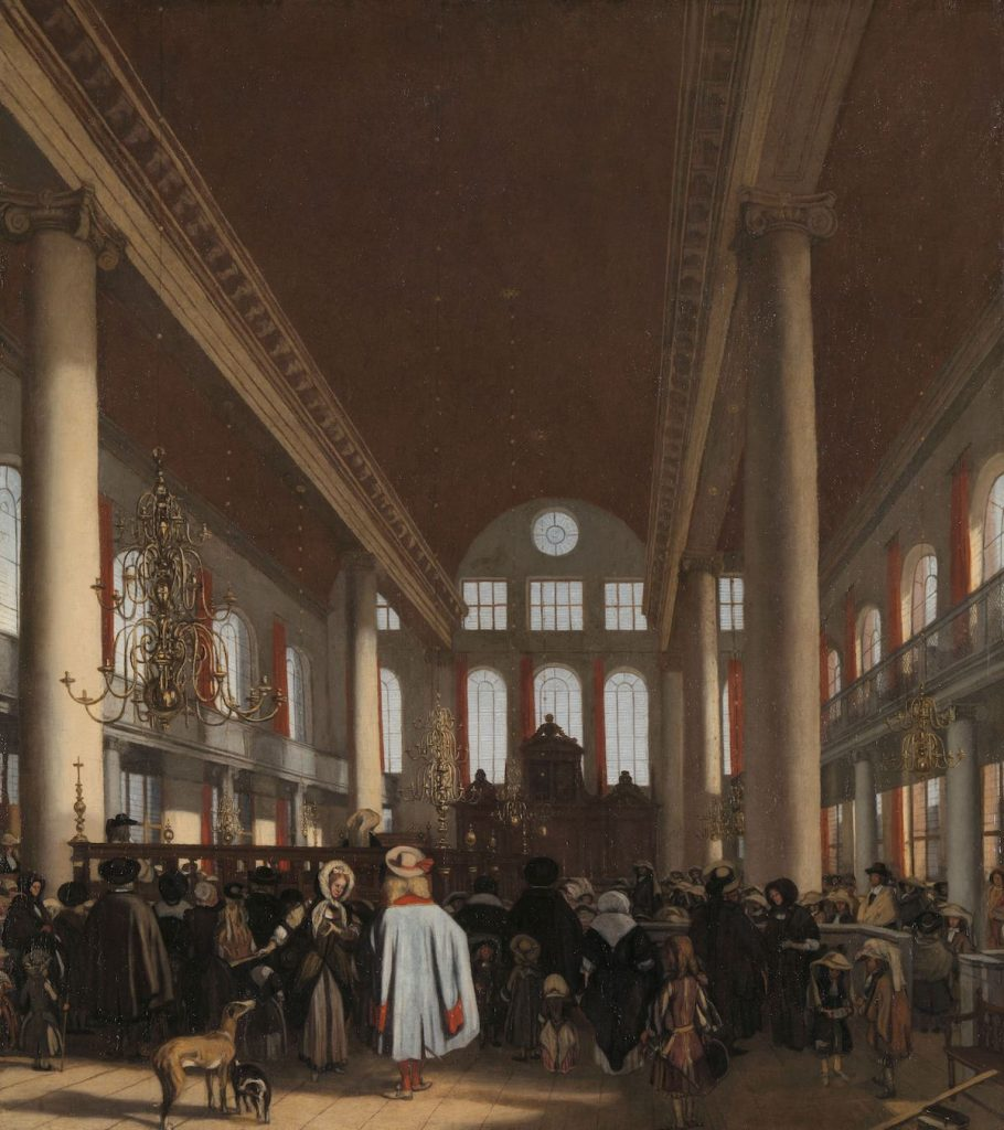 Emanuel de Witte, Interior of the Portuguese Synagogue of Amsterdam